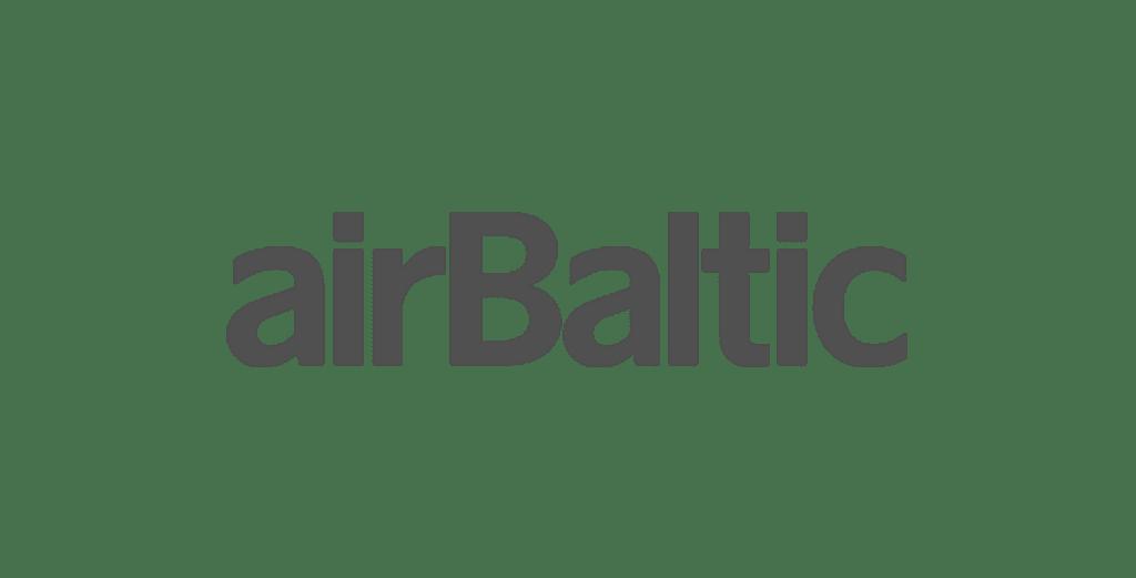 kompānijas airbaltic logo
