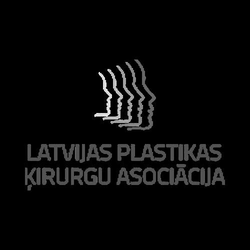 Latvijas plastisko ķirurgu associācijas logo