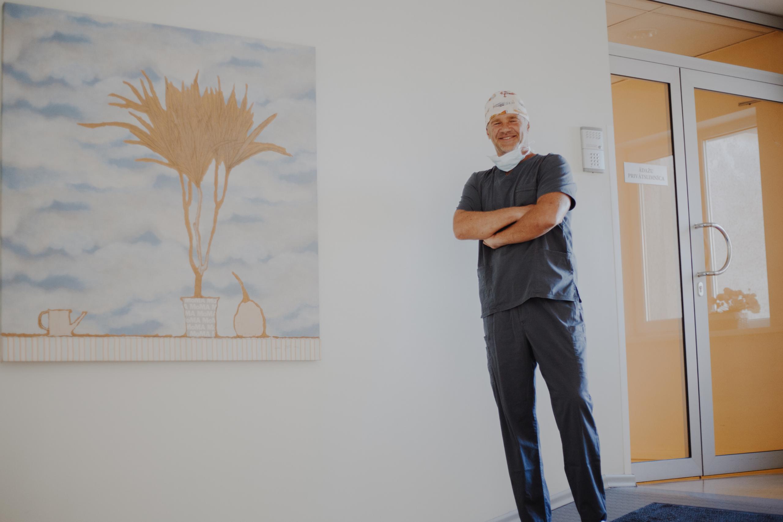 Plastiskais ķirurgs Dr. Jānis Zaržeckis