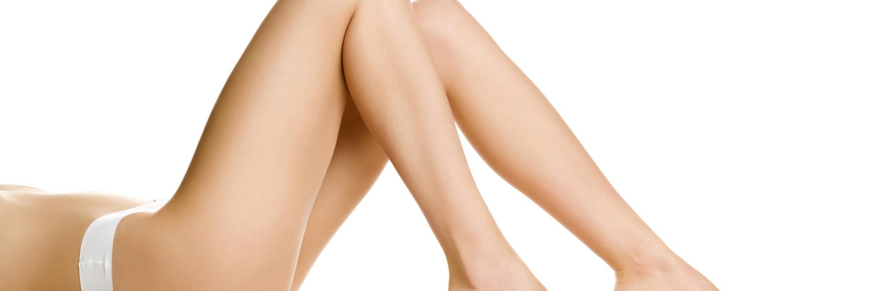 sieviete pēc kāju formas korekcijas